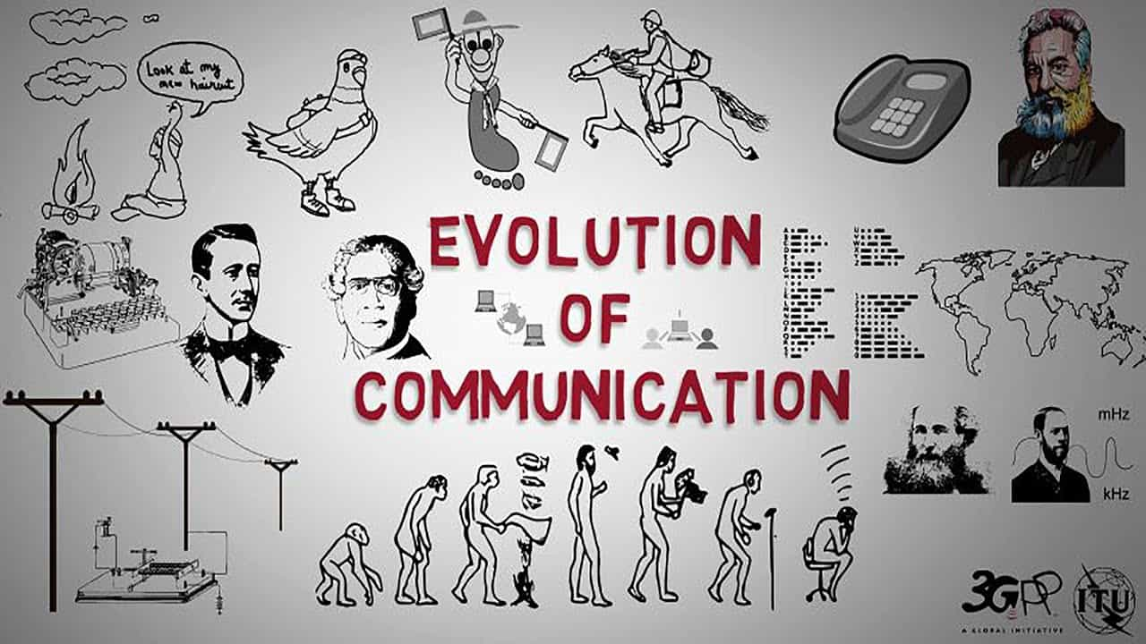 Evolution of communication technology – STONE AGE TO MODERN AGE